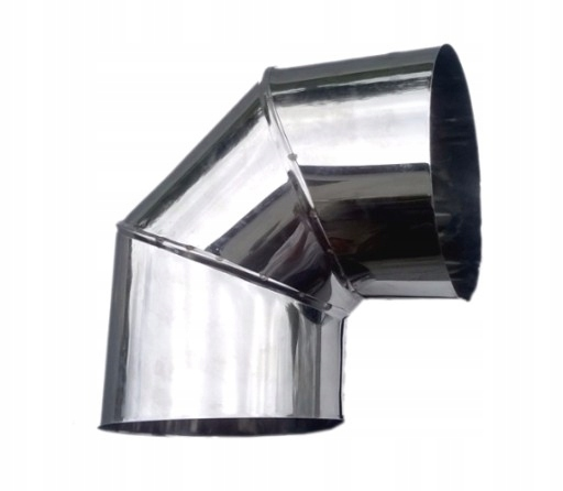 kolanko nierdzewne do kominka żaroodporna fi 130 mm