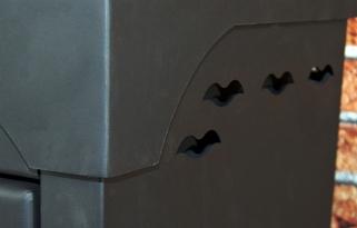 Piec kominek wolnostojący stalowy HESTIA koza 7kw
