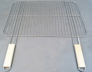 Ruszt stalowy do grilla siatka 50x38