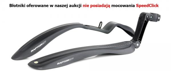 BŁOTNIKI ROWEROWE RAPTOR PRZÓD/TYŁ 24-29 ZESTAW