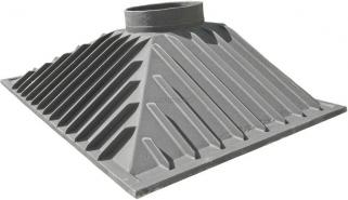 Czopuch żeliwny do kominka b1 108,5x59,5