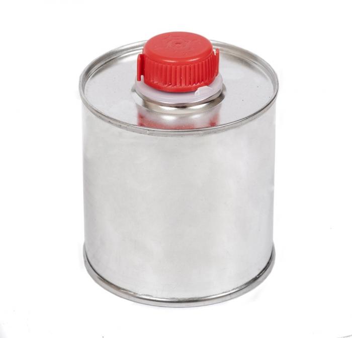 Puszka butelka metalowe z korkiem na farbę 0,25l