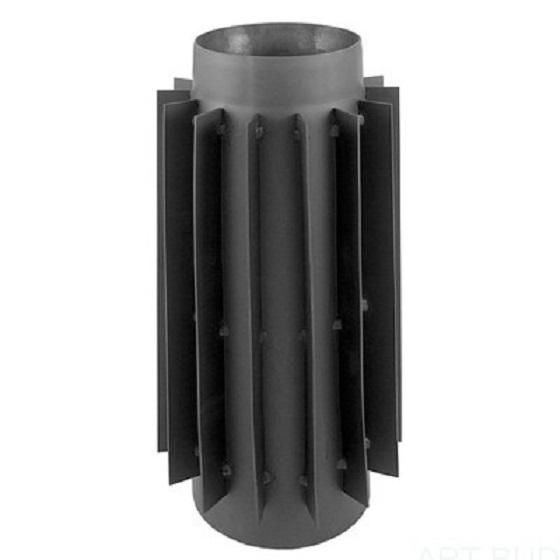 Radiator stalowy do pieca 120mm/50cm rura żebrowana