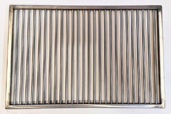 Ruszt do grilla nierdzewny na wymiar PRĘT FI5 MM