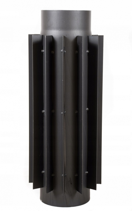 Radiator stalowy do pieca 200 mm/50 cm rura żebrowana
