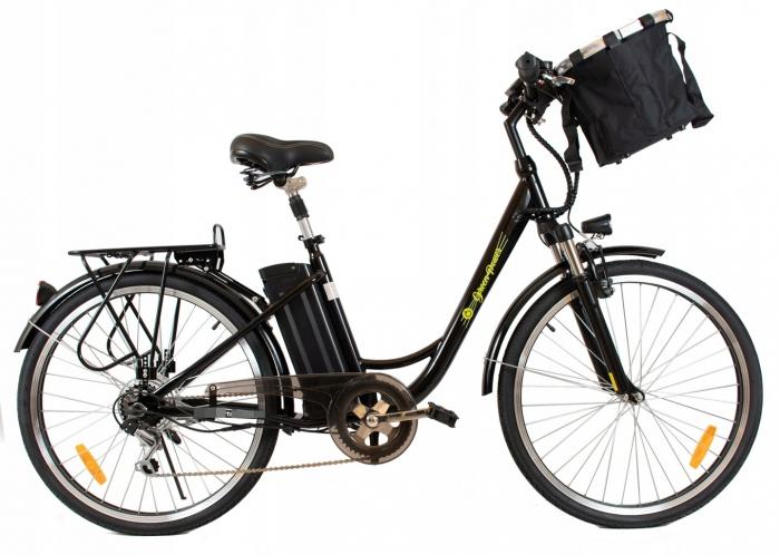 Rower Elektryczny 26 ŁABĘDŹ STAL LTA-ST004