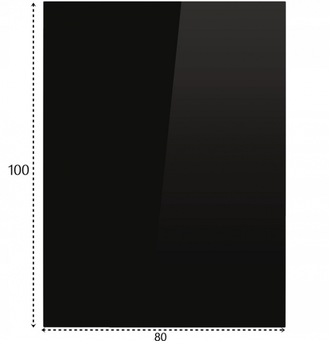 Szyba Szkło Hartowana Podstawa Pod Kominek Kozę 100x80 8mm
