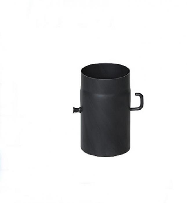 Szyber spalinowy do kominka kominowy kominkowy DARCO 150 mm