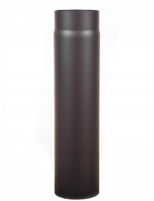 Rura spalinowa dymowa kominkowa do pieca ścianka 2mm 120x500