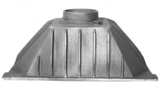 Czopuch do wkładu kominkowego m1 58x36