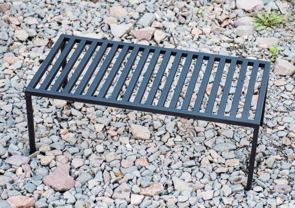 Mały grill mini przenośny RUSZT NA NÓŻKACH 50X20CM