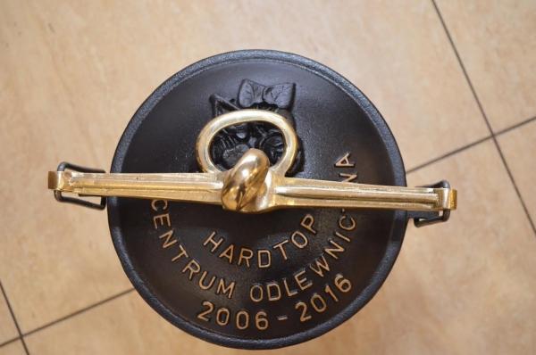 Kociołek  5L garnek myśliwski żeliwny dedykowany