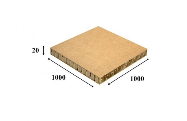 PRZEKŁADKA TEKTUROWA PLASTER MIODU 1000x1000x20mm