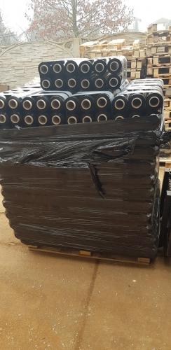 Folia czarna do pakowania paczek 3KG strecz