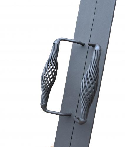 Drzwiczki stalowe dwuskrzydłowe na wymiar