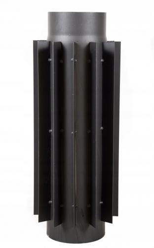 Radiator stalowy do pieca 150mm/50cm rura żebrowana